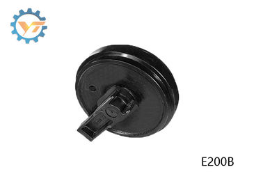 E200B Front Cat Idler Wheel Group , 50Mn Steel Track Idler Assembly